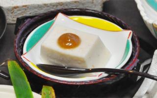 写真:胡麻豆腐